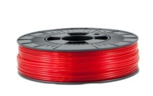 HBOT PETG: RED TRANSPARENT (2,85mm/1kg)